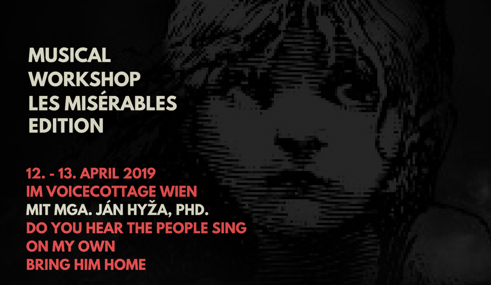 MUSICAL WORKSHOP – LES MISÉRABLES EDITION @ VoiceCottage - KreativManufaktur | Wien | Wien | Österreich