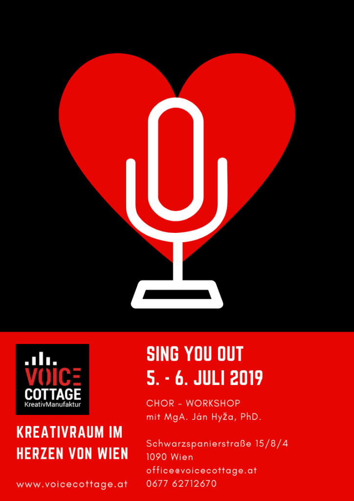 Sing You Out Workshop
